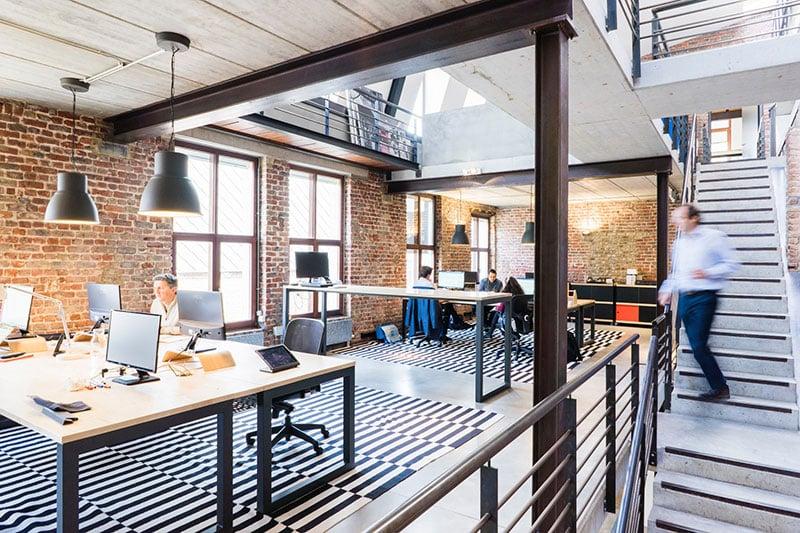 New Work ist beispielsweise durch moderne Büros möglich